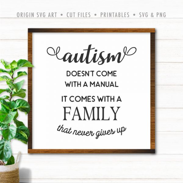 Autism Doesn't Come With a Manual, It Comes With a Family That Never Gives Up