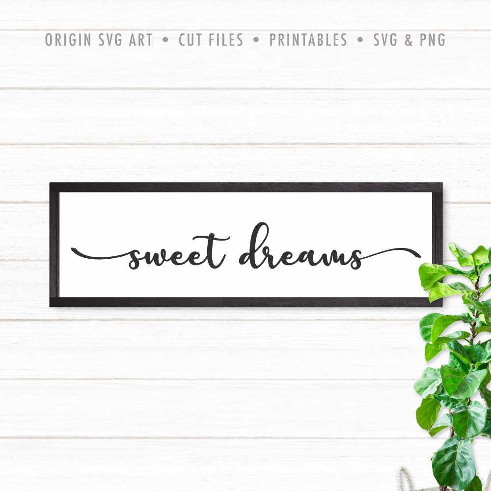 Sweet Dreams SVG