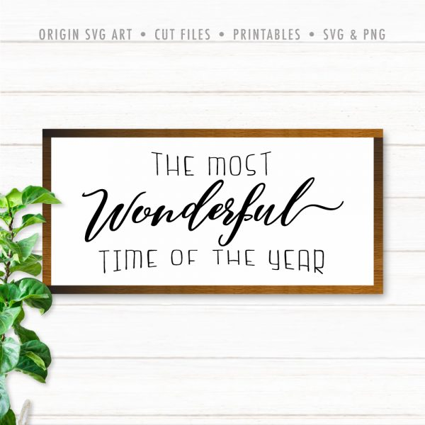 most wonderful time