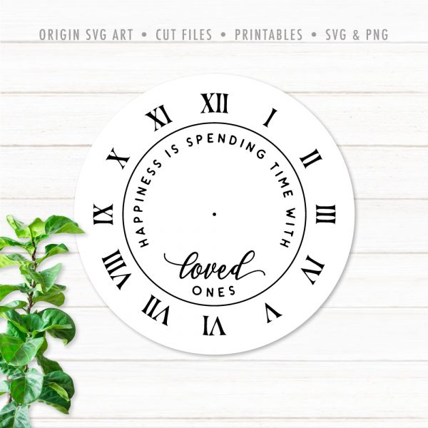 clock-face-happiness-is-spending-time-with-loved-ones svg