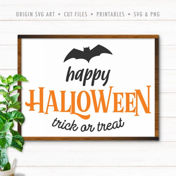 Happy Halloween Trick Or Treat SVG