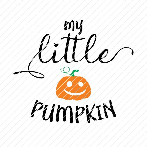My Little Pumpkin SVG