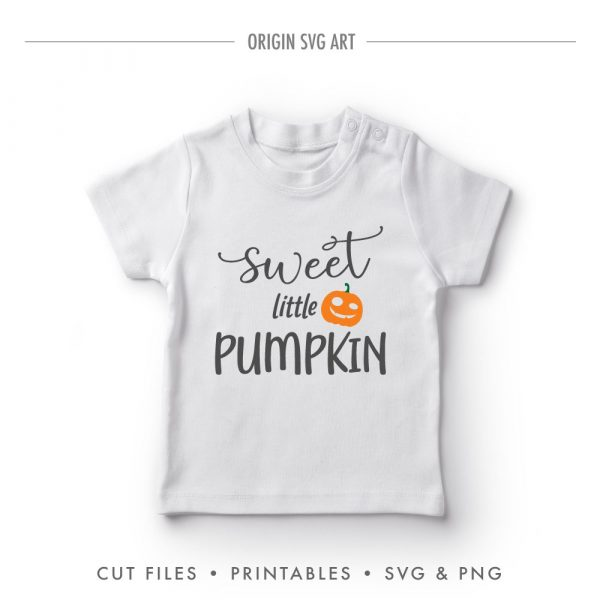 Sweet Little Pumpkin, Halloween SVG