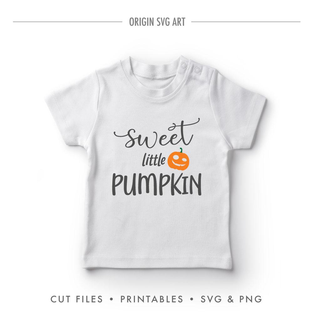 Sweet Little Pumpkin, Halloween SVG