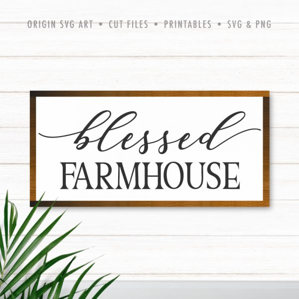 Blessed Farmhouse SVG