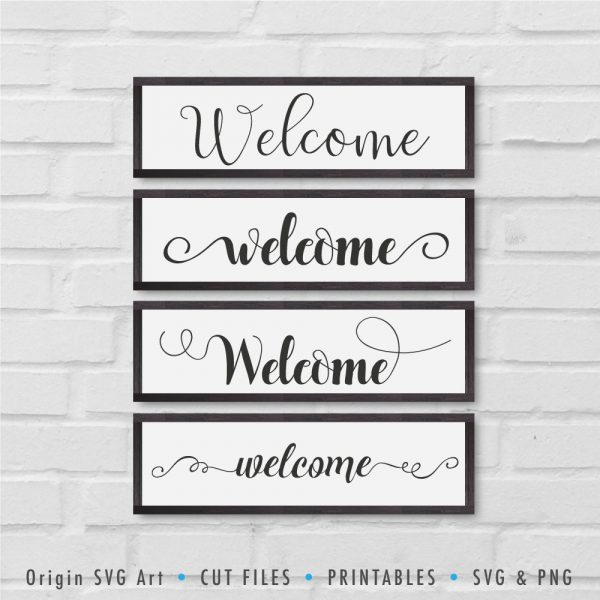 Welcome SVG Bundle