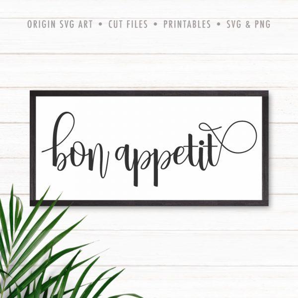 Bon Appetit SVG