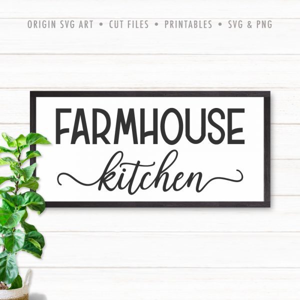 Farmhouse Kitchen SVG