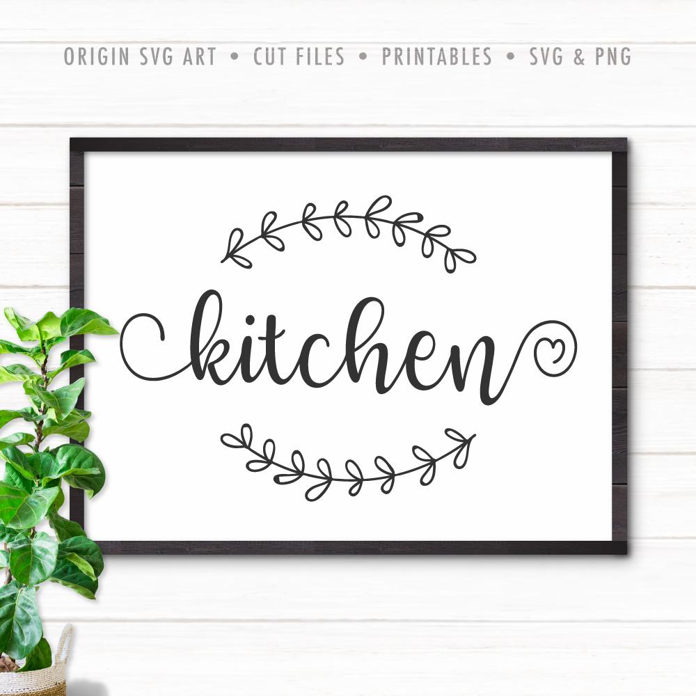 Kitchen SVG