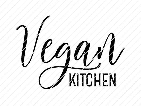 vegan kitchen svg