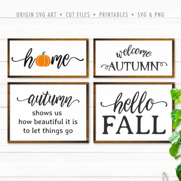 Autumn Fall SVG Mini Bundle 01
