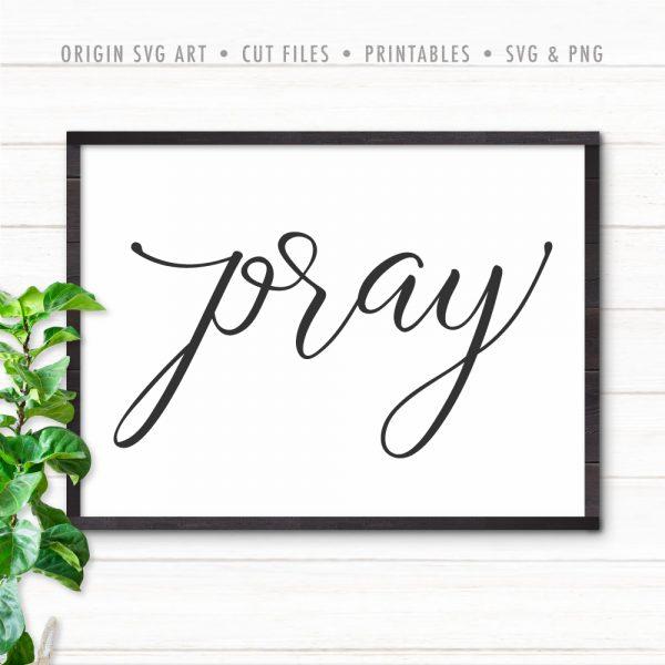 Pray SVG