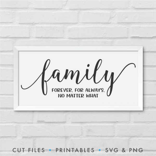family svg design