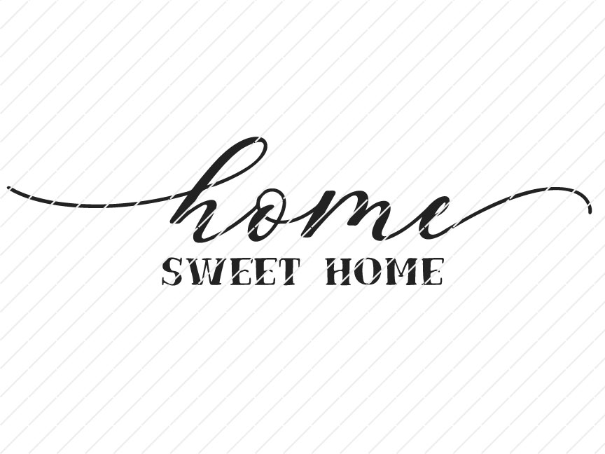 home sweet svg