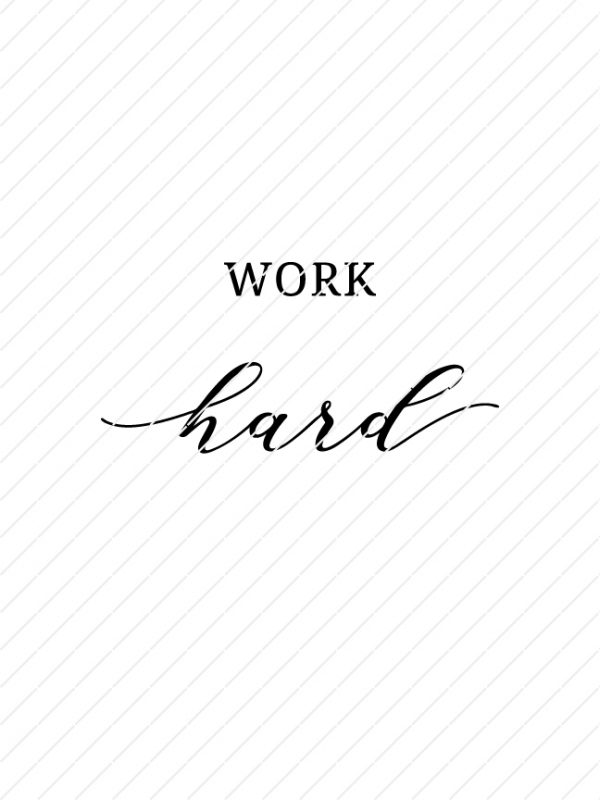 Set of 3 Stay Positive, Work Hard, Make It Happen SVG