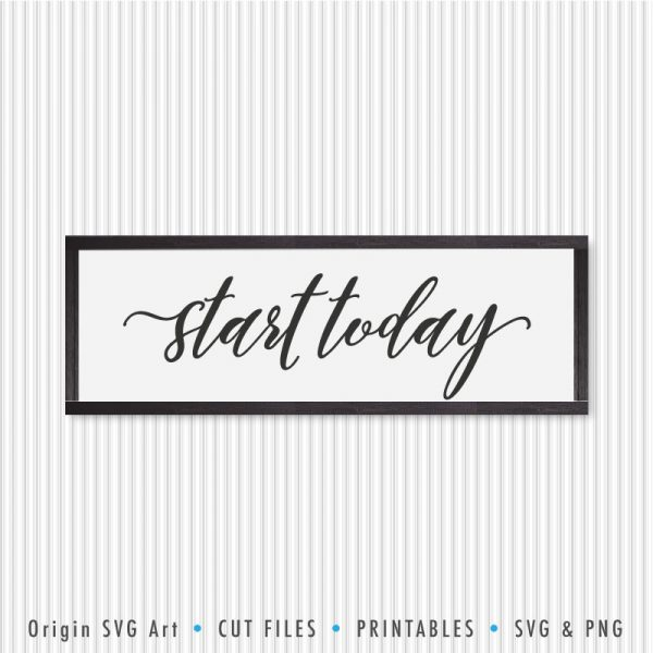 Start Today SVG