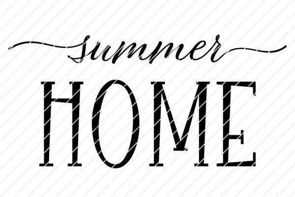 Summer Home SVG