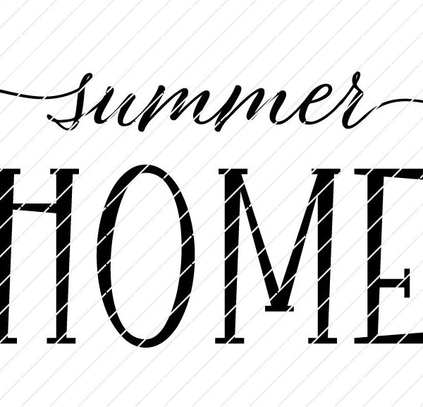 Summer Home SVG
