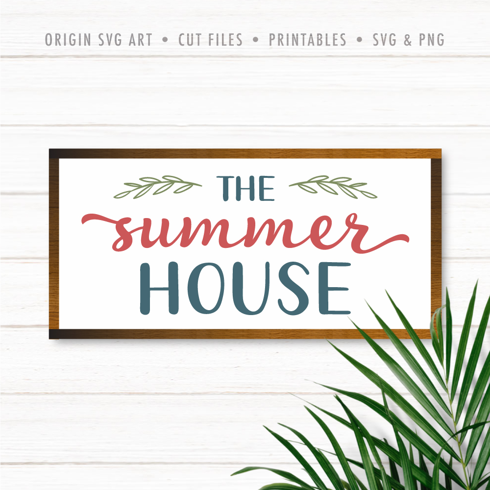 The Summer House SVG