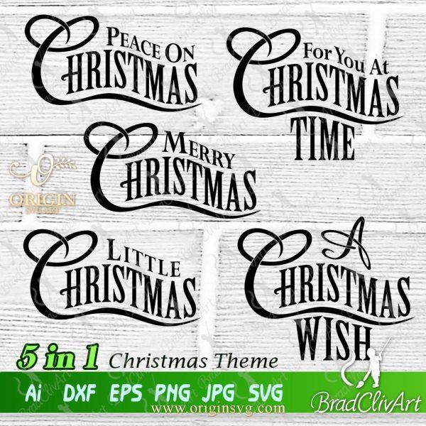 christmas wish svg
