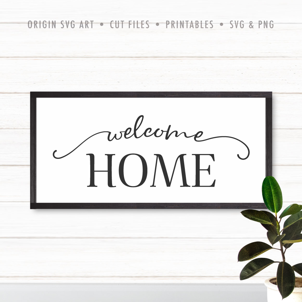 home svg wallsign
