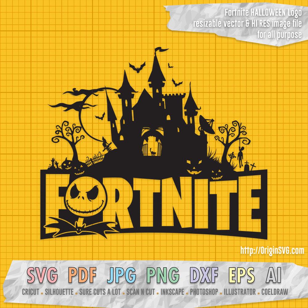 Fortnite Halloween Logo