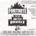 fortnite logo and fortnite battle royale logo