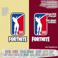 fortnite NBA logo dab SVG cut files