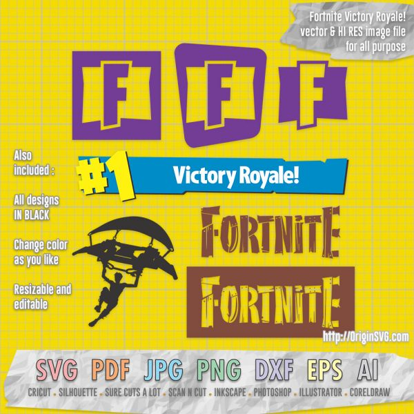 Fortnite #1 victory royale logo