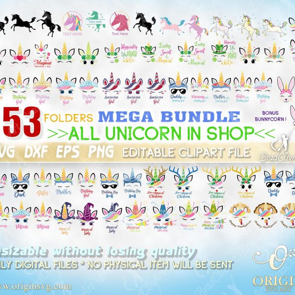 bundle unicorn svg