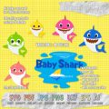 Baby Shark Family and Baby Shark Pinkfong Title