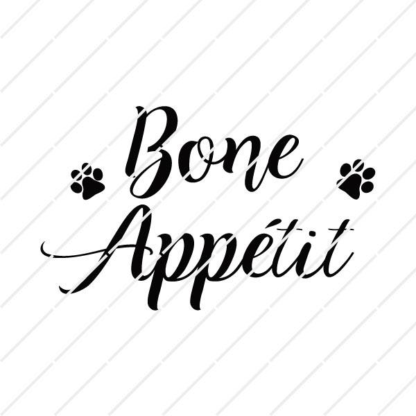 bone appétit svg