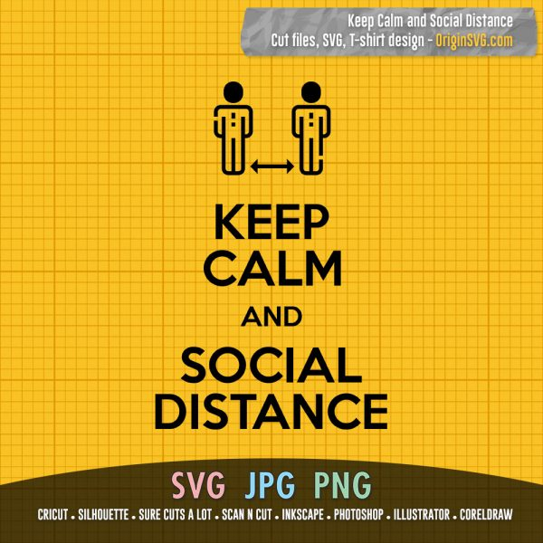 keepcalm and social distance
