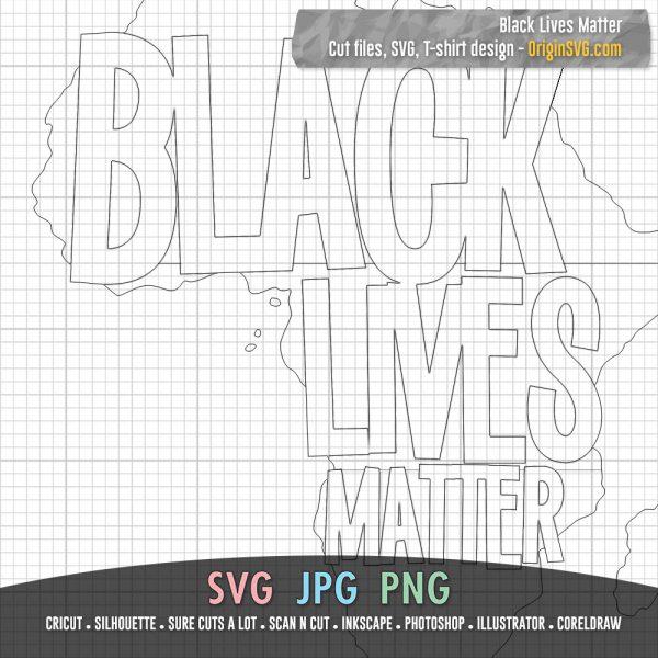 Black Lives Matter SVG
