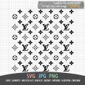 Seamless LV Pattern SVG