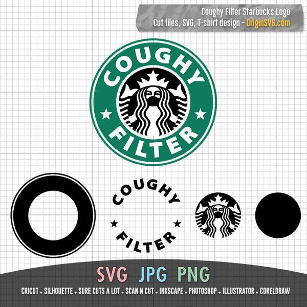 Coughy Filter SVG Design - Starbucks Logo