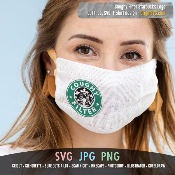 Coughy Filter SVG Design - Starbucks Logo