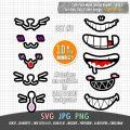 cute face mask bundle set 2