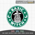 Basic witch Starbucks Logo