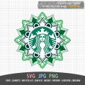 starbucks mandala design