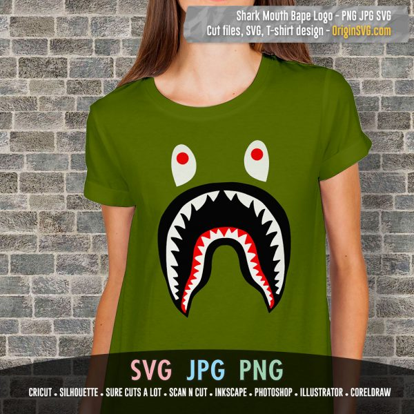 bape shark mouth
