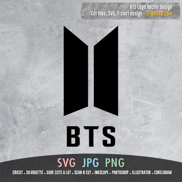 BTS logo vector SVG printable