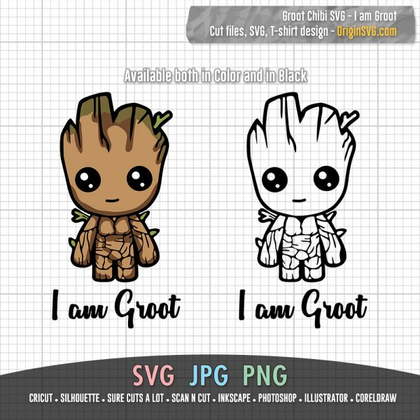 Baby Groot SVG