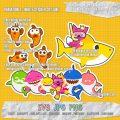 baby shark set 4