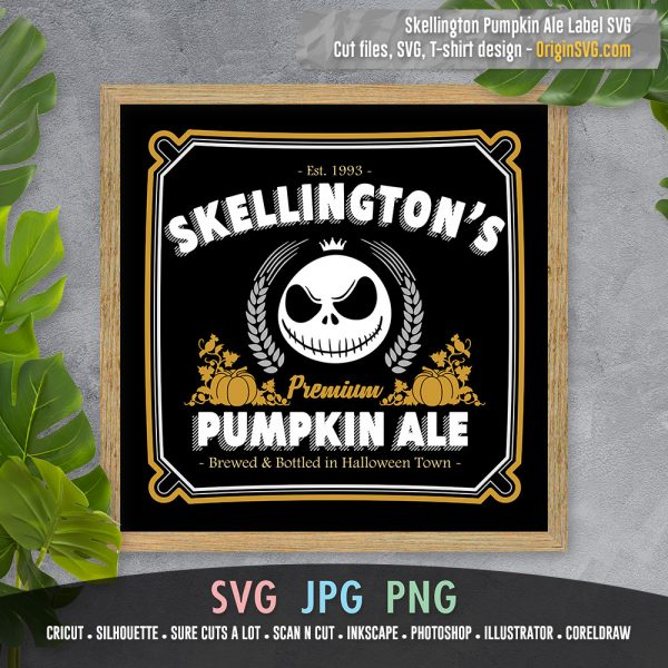 skellington pumpkin ale