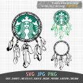 Starbucks Dreamcatcher Design Hand Drawn Starbucks Cup