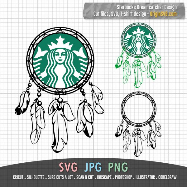 Starbucks Dreamcatcher Design Hand Drawn Starbucks Cup