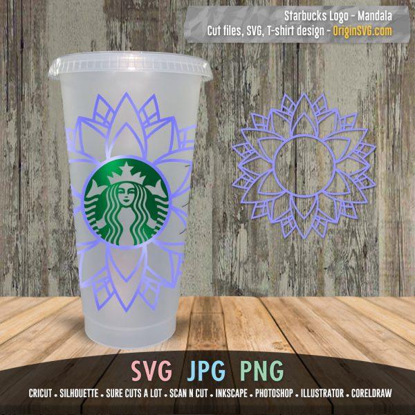 Starbucks Logo Mandala