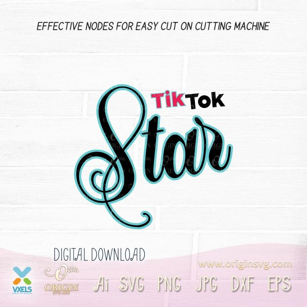 tik tok star design
