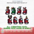 christmas hats among us